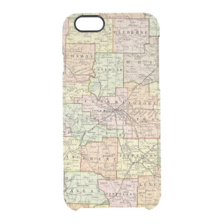 Arkansas 6 clear iPhone 6/6S case
