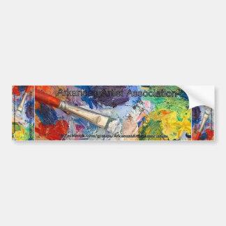 Arkansas Artist Association Bumper Sticker