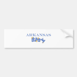 Arkansas Baby (Blue) Bumper Sticker