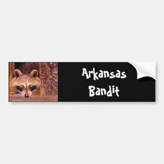 Arkansas Bandit Bumper Stickers