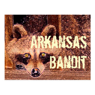 Arkansas Bandit Postcard
