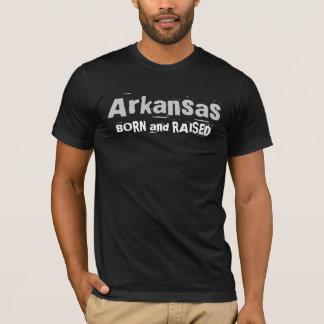 Arkansas BORN and RAISED T-Shirt