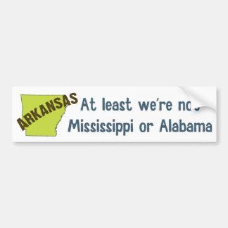 Arkansas Bumper Sticker Car Bumper Sticker