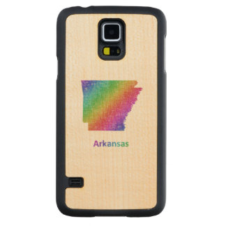 Arkansas Carved Maple Galaxy S5 Case