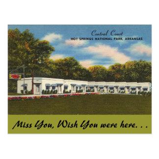 Arkansas, Central Court Postcard