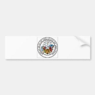 Arkansas Coat of Arms Bumper Sticker