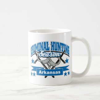 Arkansas Criminal Hunting Season Coffee Mugs