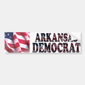 Arkansas Democrat Bumper Sticker