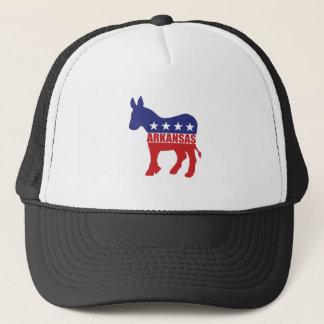 Arkansas Democrat Donkey Trucker Hat