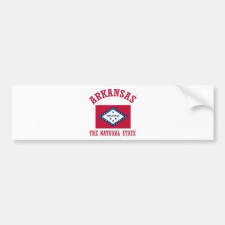 Arkansas Design Bumper Sticker