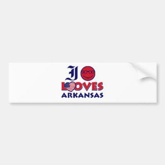 Arkansas Designs Bumper Stickers