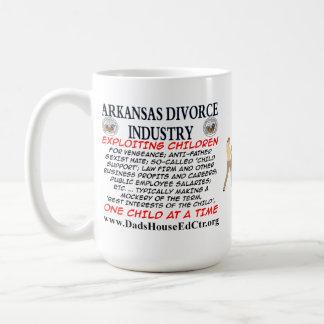 Arkansas Divorce Industry. Basic White Mug