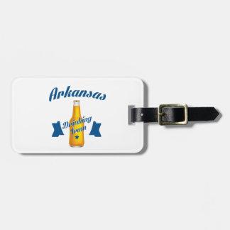 Arkansas Drinking team Luggage Tag