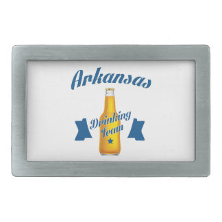 Arkansas Drinking team Rectangular Belt Buckle