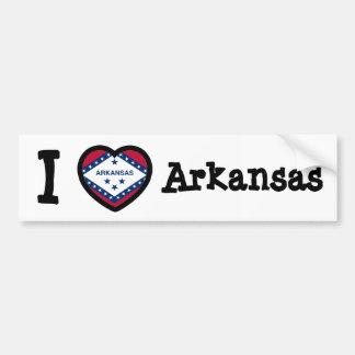 Arkansas Flag Bumper Sticker