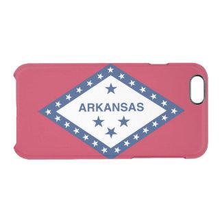 Arkansas flag clear iPhone 6/6S case