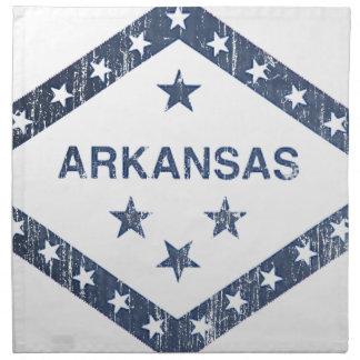 Arkansas Flag Napkin