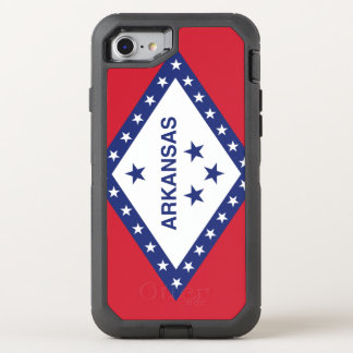Arkansas Flag Otterbox Defender Iphone 7 Case