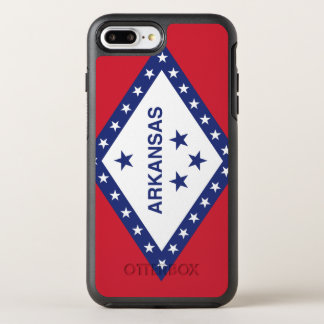 Arkansas Flag Otterbox Symmetry Iphone 7 Plus Case