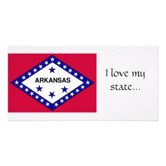 Arkansas Flag Photo Card