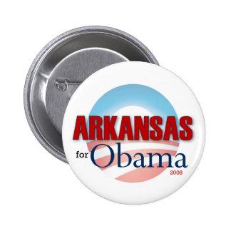 Arkansas for Obama 6 Cm Round Badge
