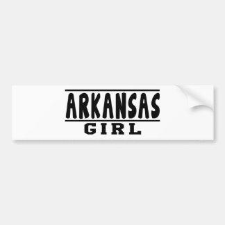 Arkansas girl designs bumper sticker