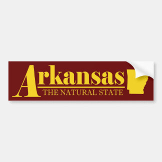 Arkansas Gold Bumper Sticker