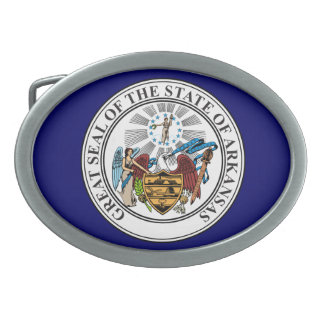 Arkansas Great Seal Belt Buckle