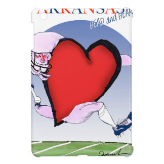 arkansas head heart, tony fernandes iPad mini cover