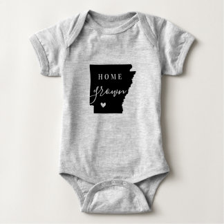 Arkansas Home Grown State Tee