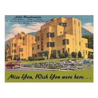 Arkansas, Hotel Mountainaire Postcard
