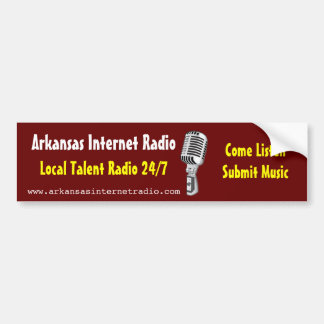Arkansas Internet Radio - Bumper Sticker