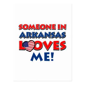ARKANSAS love designs Postcard