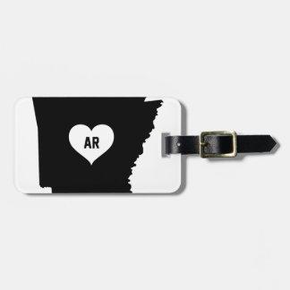 Arkansas Love Luggage Tag