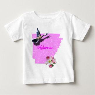 Arkansas Mockingbird & Apple Blossom Shirt