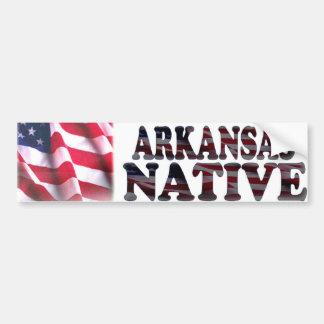 Arkansas Native Bumper Sticker