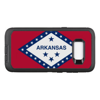 Arkansas OtterBox Defender Samsung Galaxy S8+ Case