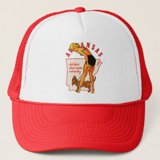 Arkansas Pinup Trucker Hat