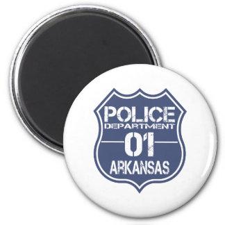 Arkansas Police Department Shield 01 Refrigerator Magnet