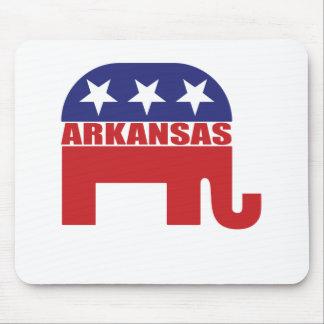 Arkansas Republican Elephant Mouse Pads