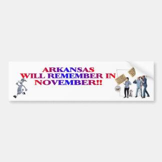 Arkansas - Return Congress To The People Bumper Sticker