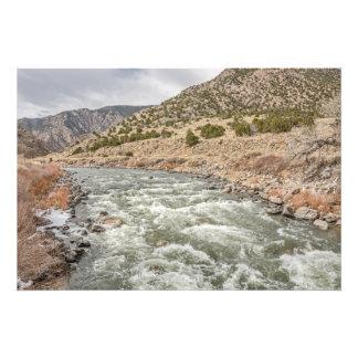 Arkansas River in Colorado Photographic Print