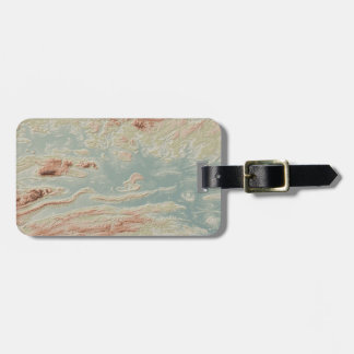 Arkansas River Valley- Classic Style Luggage Tag