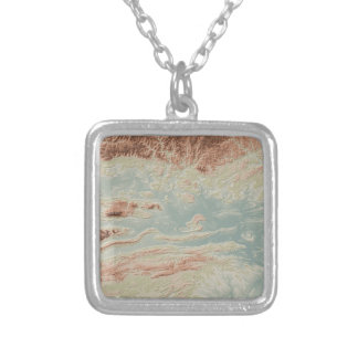 Arkansas River Valley- Classic Style Silver Plated Necklace