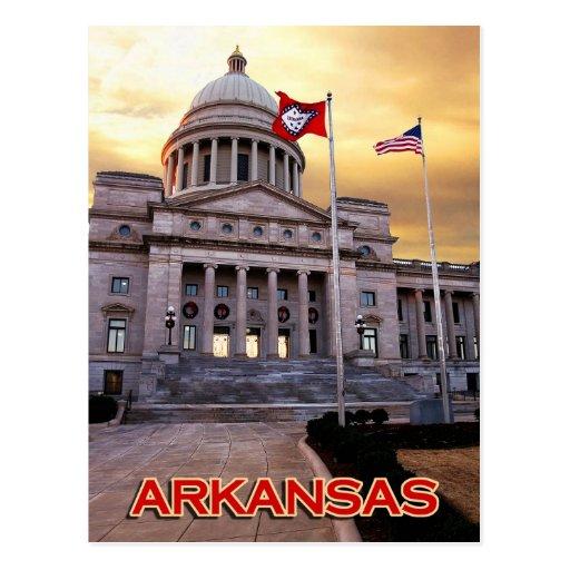 Arkansas State Capitol Building, Little Rock, AR Postcard