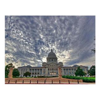 Arkansas State Capitol Postcard