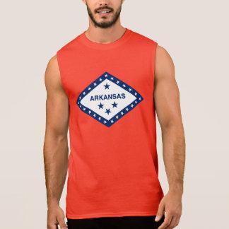 Arkansas State Flag (On Red) Sleeveless Shirt