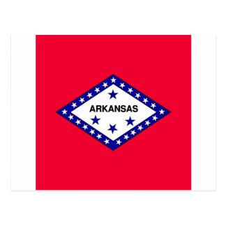 Arkansas State Flag Postcard