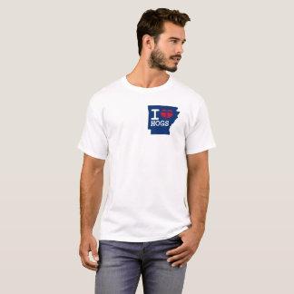 Arkansas State I Love HOGS tshirt