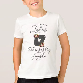 "Arkansas State Wedding Ring Bearer ""Still Single"" T-Shirt"
